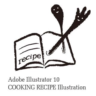 ロイヤリティーフリー素材:recipe:Illustrator