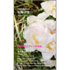 4birdの作品発表:名刺の作成と印刷:Flower