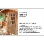 4birdの作品発表:名刺の作成と印刷:ドア