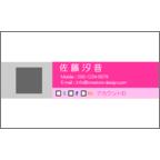 エフスの作品発表:名刺の作成と印刷:SNS_3colorPi