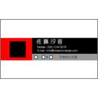 エフスの作品発表:名刺の作成と印刷:SNS_3colorRe