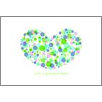 まるの作品発表:はがき作成とDM印刷:水彩_ハート3