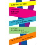 フォーヴァの作品発表:名刺の作成と印刷:シンプル・テープ1