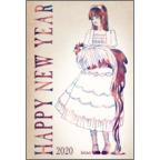 ガーリーイラストLaLの作品発表:はがき作成とDM印刷:Alice