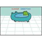 TOKUKOの作品発表:GIF・JPEG:データ・暑中(バスカエル)