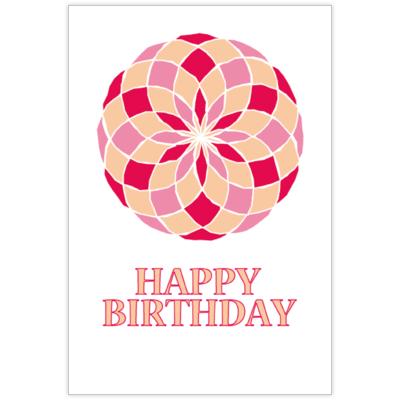 はがき・DM・ポストカードの作成と印刷:mosaic Peach