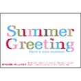 動物_金魚_4で暑中見舞い、DM/ポストカードを作る