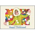 季節_女性_1でクリスマスカード、DM/ポストカードを作る
