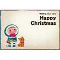 季節_子供_1でクリスマスカード、DM/ポストカードを作る