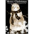 季節_雪だるま_1でクリスマスカード、DM/ポストカードを作る